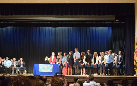 30 students recognized during Mu Alpha Theta inductions