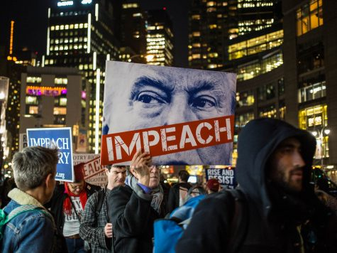 Trump is the third president to be impeached by the House of Representatives.
