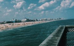 A view of Ocean City, MD from the pier.